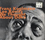 Franz Koglmann / Lee Konitz CD