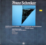 """Franz Schreker Vinyl 12"""" (Used)"""