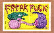 Freak Fucks Comic Book