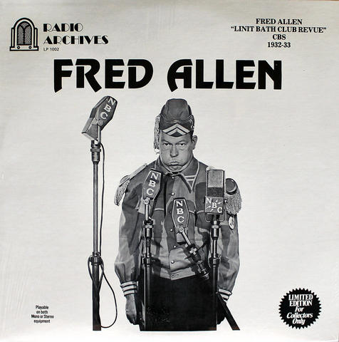 "Fred Allen Vinyl 12"" (New)"