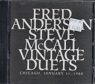 Fred Anderson / Steve McCall CD