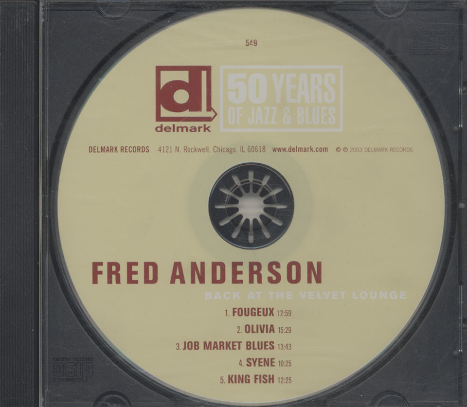 Fred Anderson CD