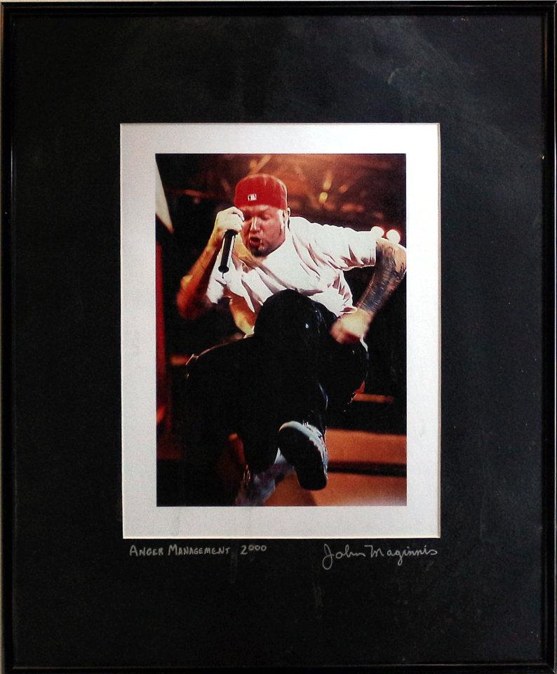 Fred Durst Framed Vintage Print