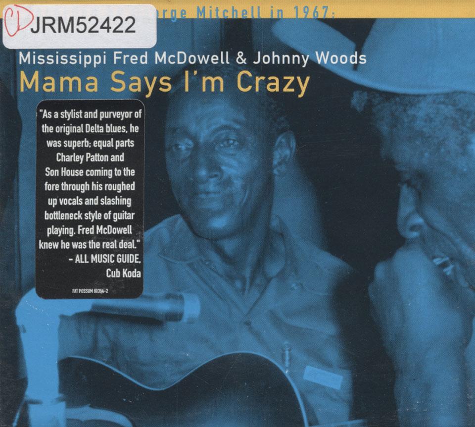 Fred McDowell CD