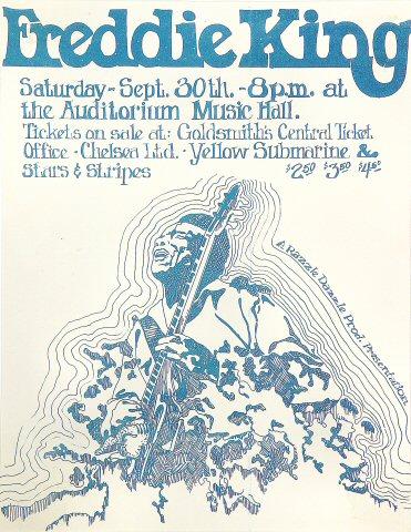 Freddie King Handbill