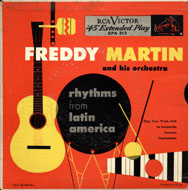 "Freddy Martin And His Orchestra Vinyl 7"" (Used)"