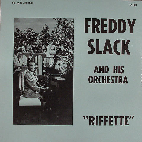 "Freddy Slack and His Orchestra Vinyl 12"" (New)"