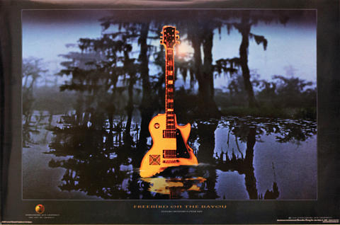 Freebird on the Bayou Poster