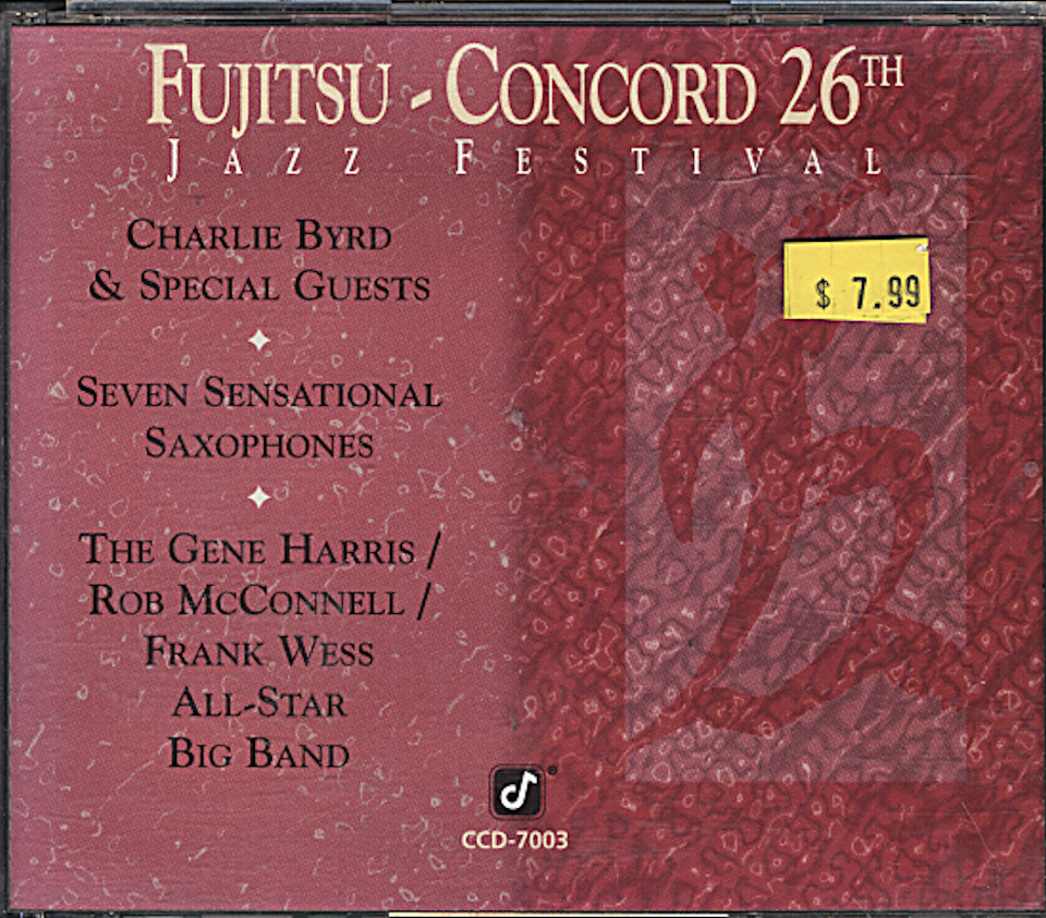 Fujitsu Concord: 26th Jazz Festival CD