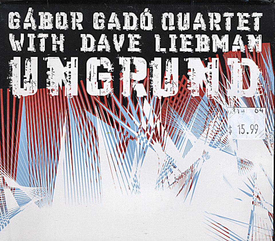Gador Gado Quintet with Dave Liebman CD