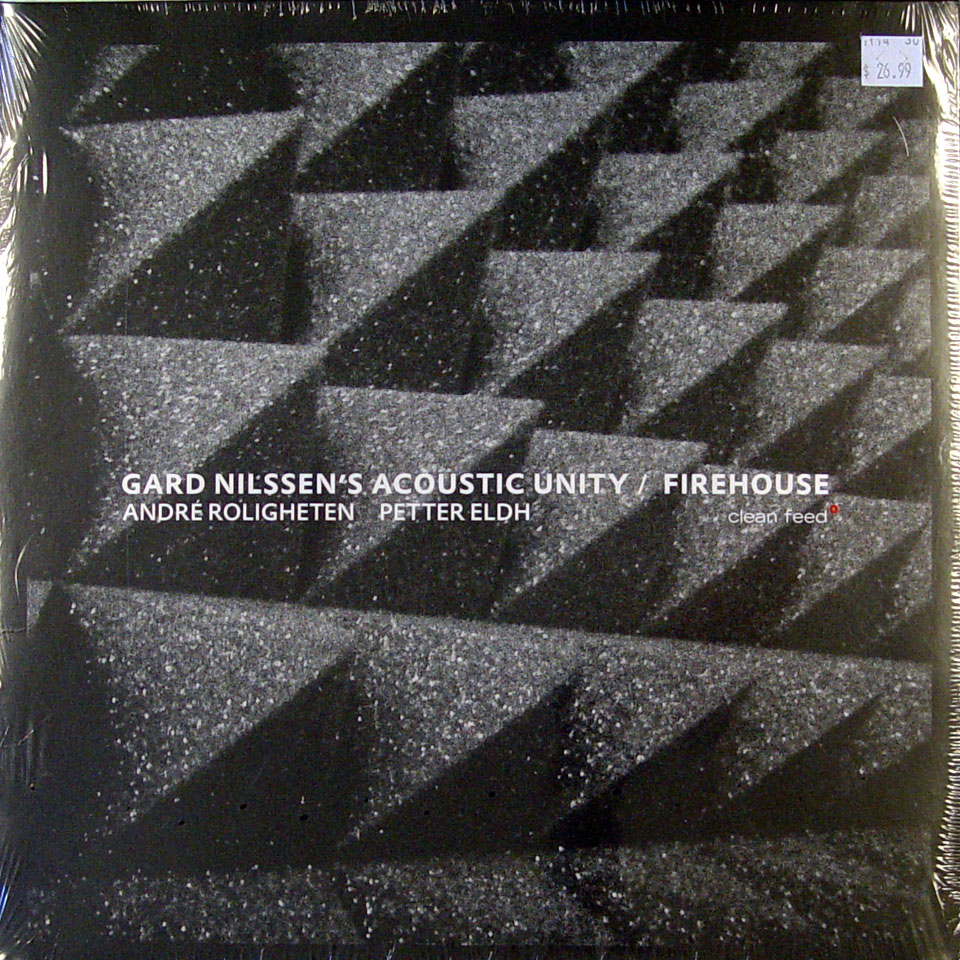"""Gard Nilssen's Acoustic Unity / Firehouse Vinyl 12"""" (New)"""