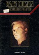 Gary Numan Warriors Tour '83 Book