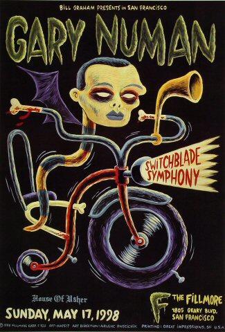 Gary Numan Poster