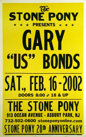 "Gary ""U.S."" Bonds Poster"