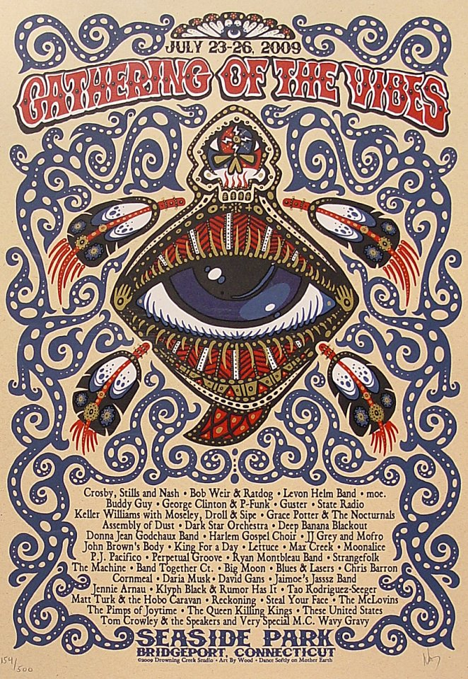 Gathering of the Vibes Poster