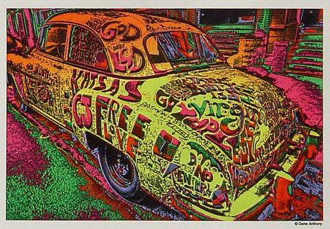 Gene Anthony Sticker
