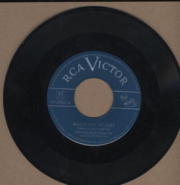 "Gene Krupa And His Chicago Jazz Vinyl 7"" (Used)"