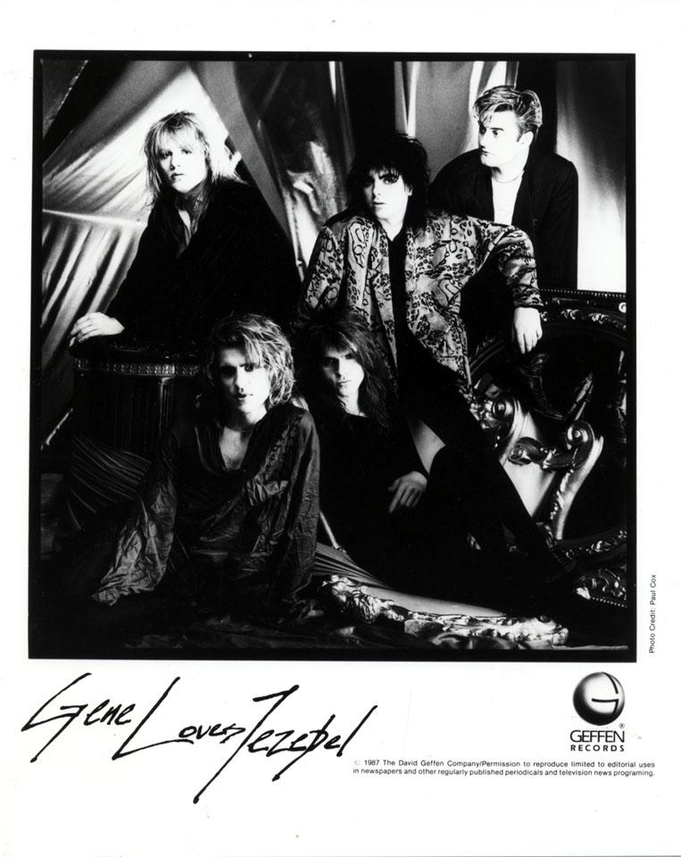 Gene Loves Jezebel Promo Print