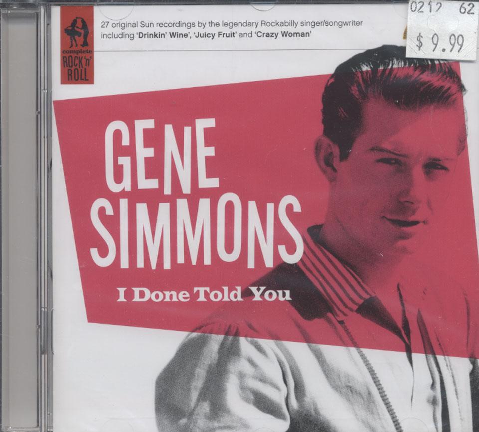 Gene Simmons CD