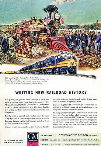 General Motors: Electro-Motive Vintage Ad