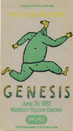 Genesis Backstage Pass