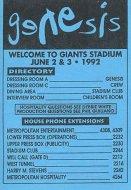 Genesis Handbill