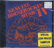 Genuine Houserockin' Music IV CD
