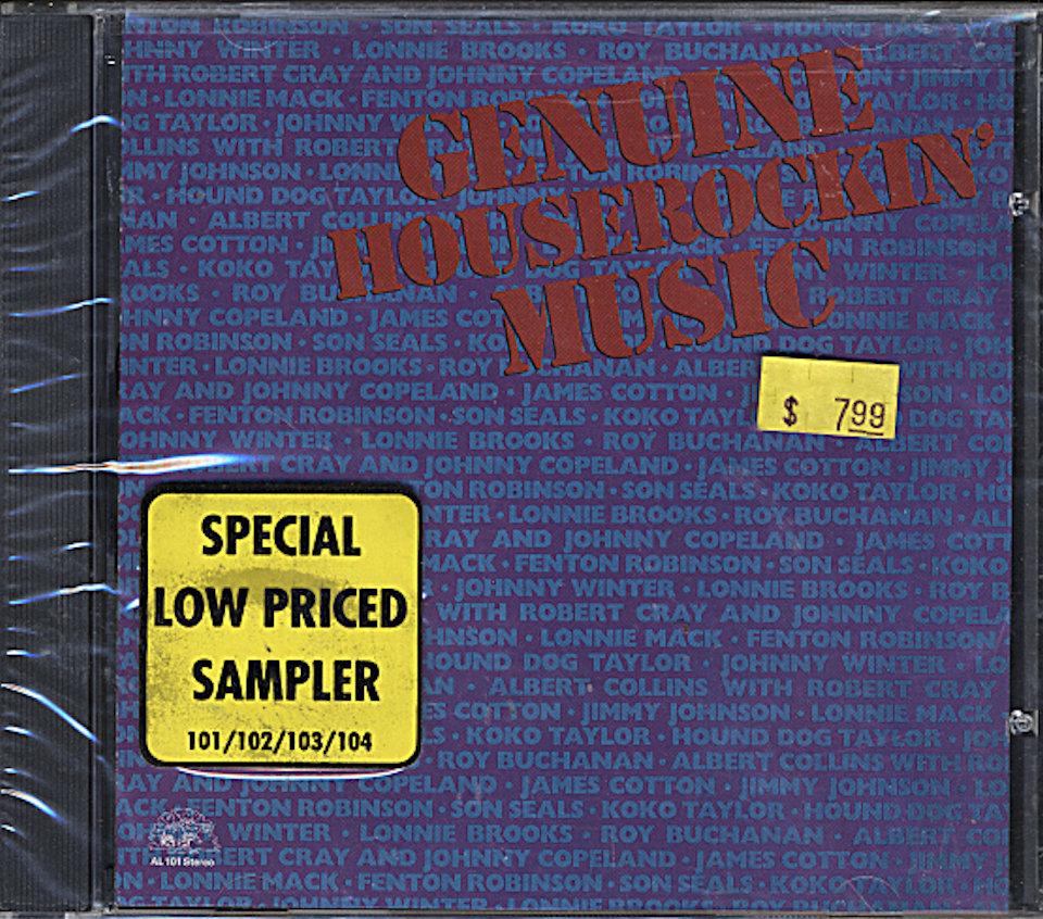 Genuine Houserockin' Music CD