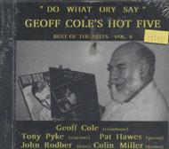 Geoff Cole's Hot Five CD