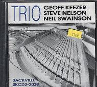 Geoff Keezer / Steve Nelson / Neil Swainson CD