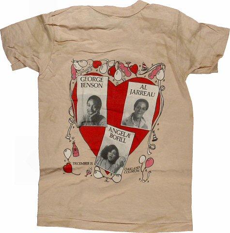 George Benson Kid's Vintage T-Shirt reverse side
