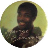 George Benson Pin