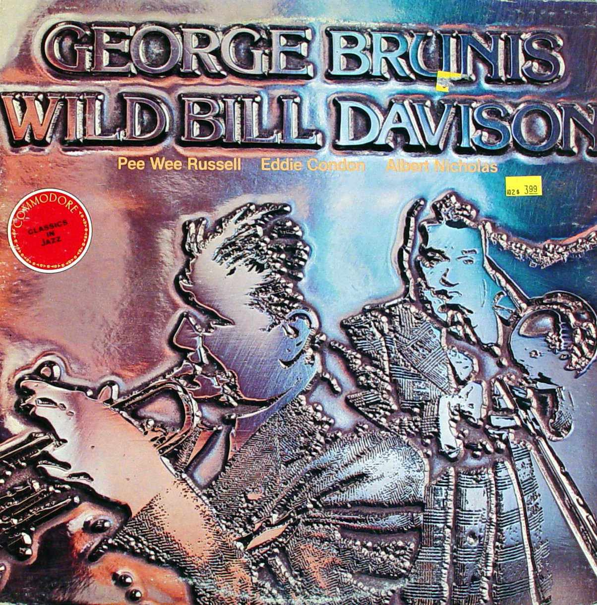 "George Brunis / Wild Bill Davison Vinyl 12"" (Used)"
