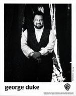 George Duke Promo Print