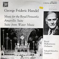 """George Frideric Handel Vinyl 12"""" (Used)"""