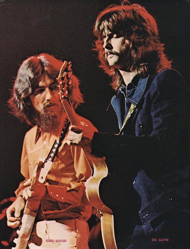 George Harrison, Eric Clapton Handbill