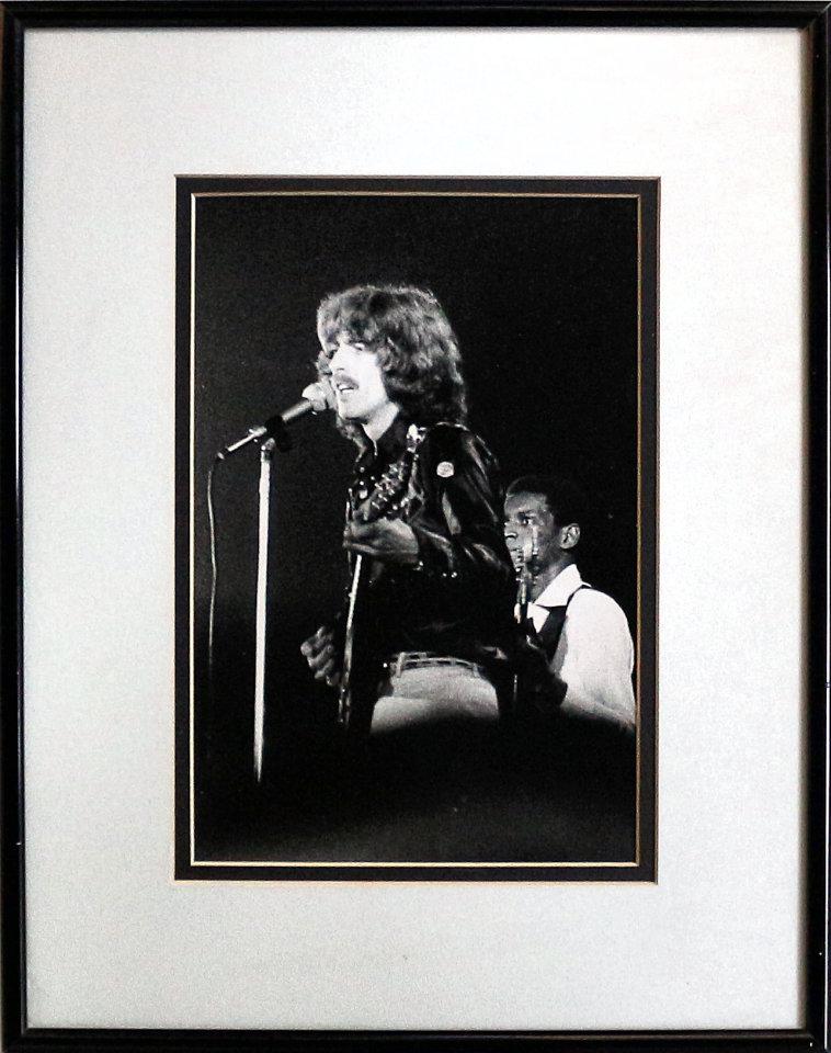 George Harrison Framed Vintage Print