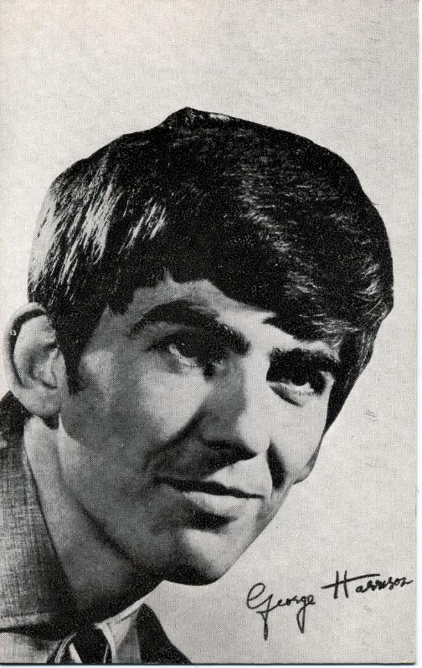 George Harrison Handbill