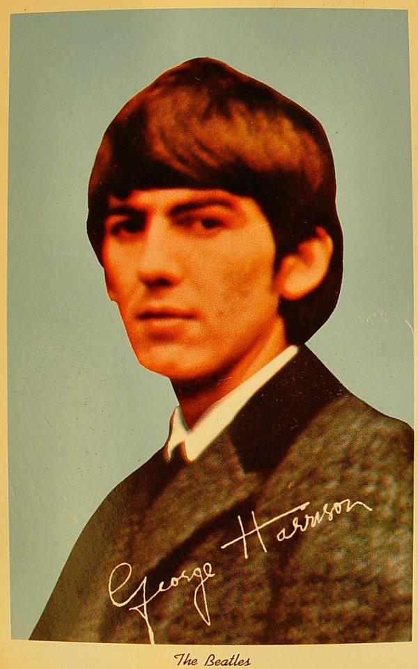 George Harrison Postcard