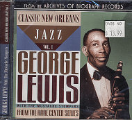 George Lewis & The Mustache Stompers CD