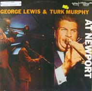 """George Lewis / Turk Murphy Vinyl 12"""" (Used)"""