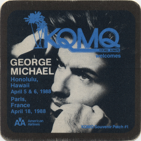 George Michael Backstage Pass