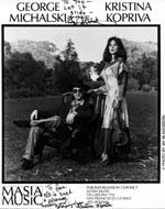 George Michalski Promo Print