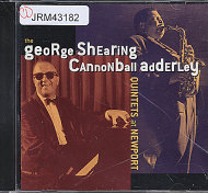 George Shearing / Cannonball Adderley CD