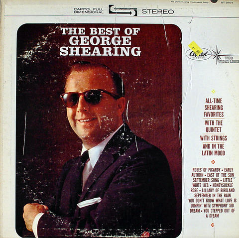 """George Shearing Vinyl 12"""" (Used)"""