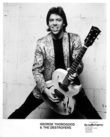 George Thorogood & The Destroyers Promo Print