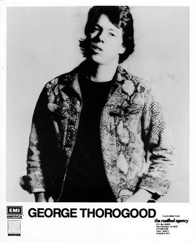 George Thorogood Promo Print
