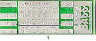 George Thorogood Vintage Ticket