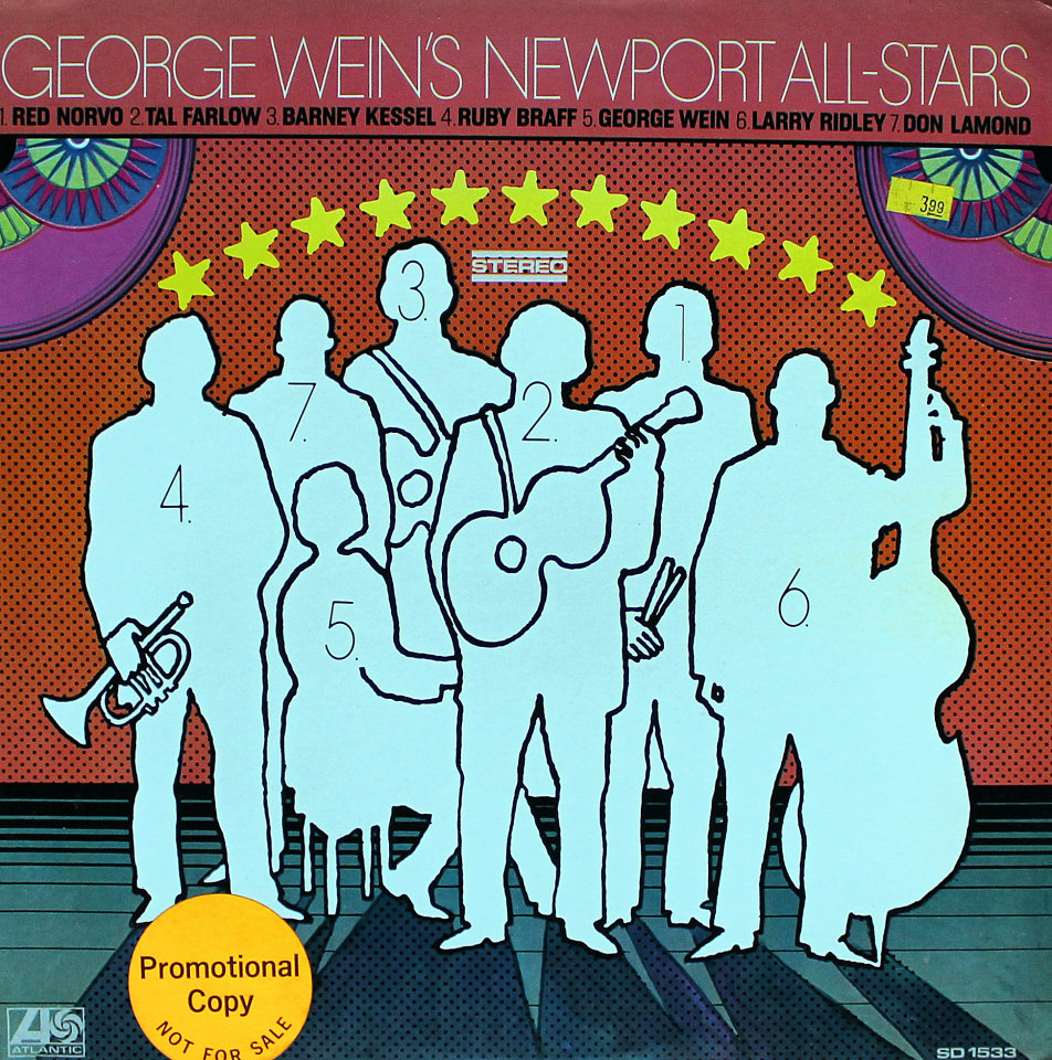 "George Wein's Newport All-Stars Vinyl 12"" (Used)"