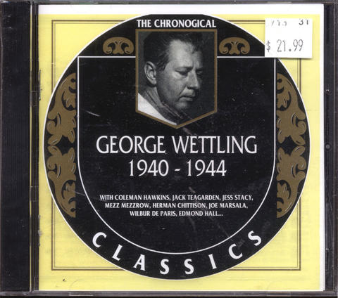 George Wettling CD